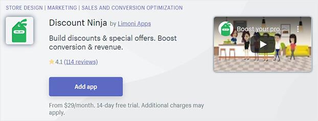 Discount Ninja Shopify Flash Sale App