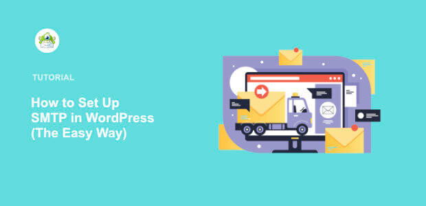 Featured image Set Up SMTP in WordPress
