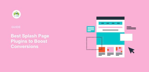 Featured image Splash Page Plugins