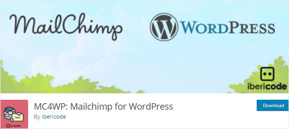 MailChimp for WordPress list building plugin