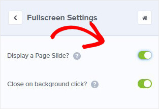 Page Slide Fullscreen Mat