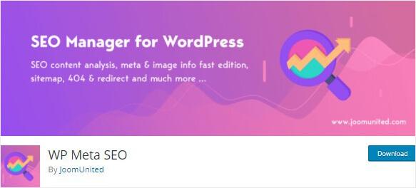 WP Meta SEO plugin
