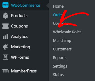 Click Wholesale Roles in WooCommerce
