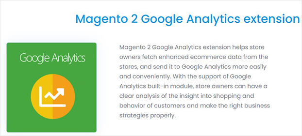 Magento 2 Google Analytics Extension
