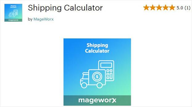 Magento Shipping Calculator