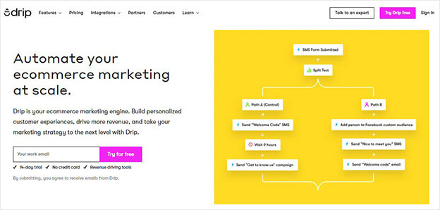 drip crm software