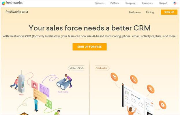 freshworks crm software