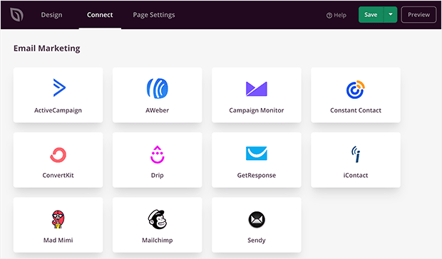 seedprod email integrations