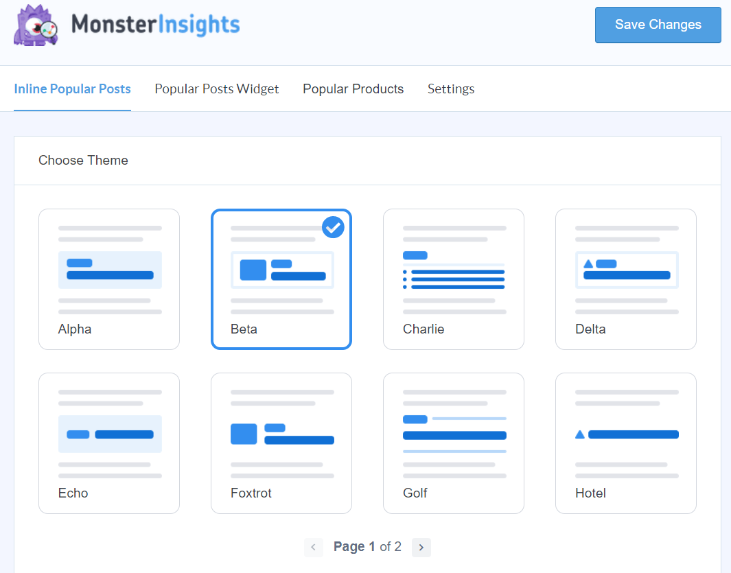 customize popular post settings