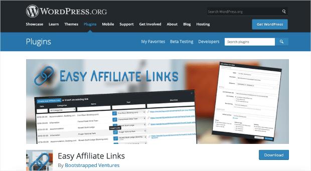 easy affiliate links homepage-min