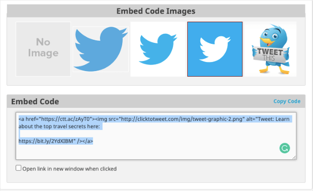 embed tweet code-min