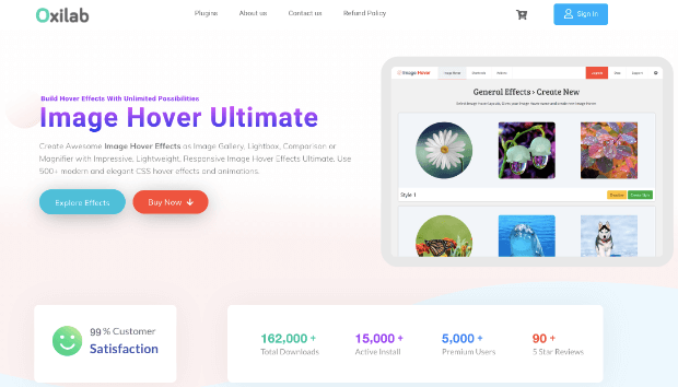 image hover ultimate