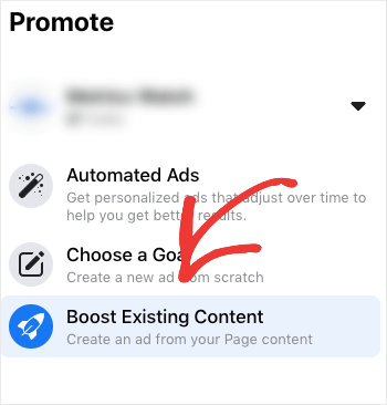 boost exisiting content with facebook ads-min