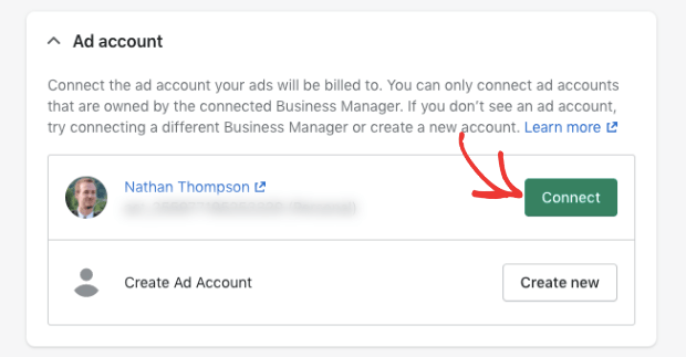 connect ads account