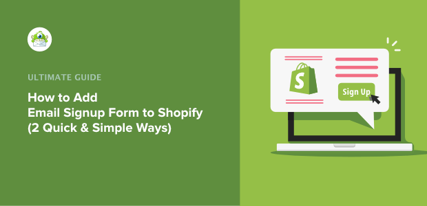 How to Add Email Signup to Shopify