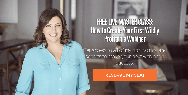 amy porterfield landing page example