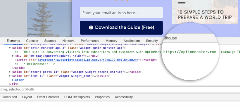 custom domains example