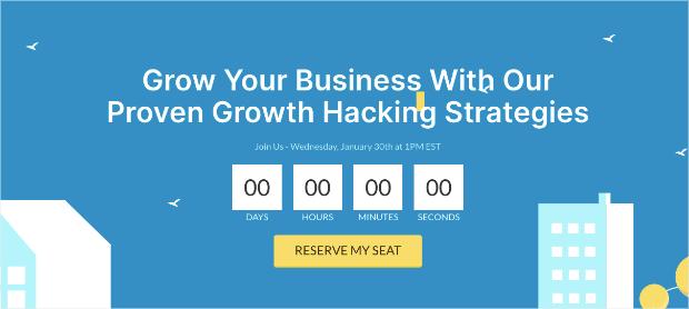 growth webinar template