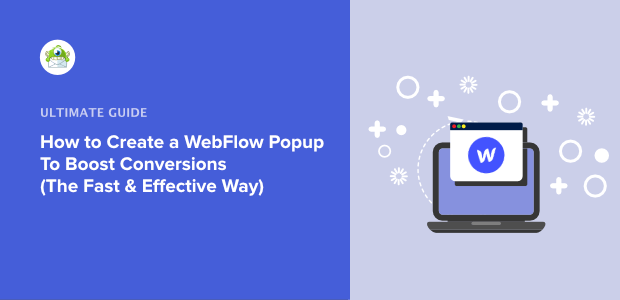 How to create a WebFlow popup