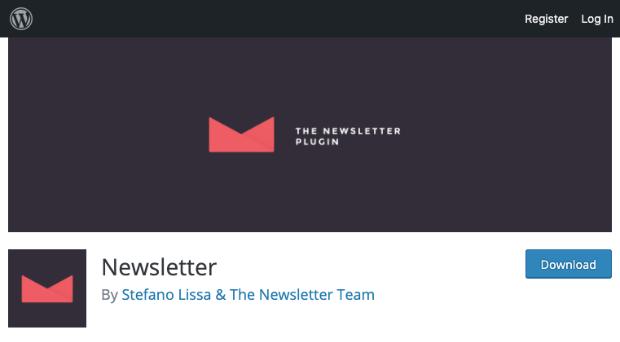 Newsletter plugin