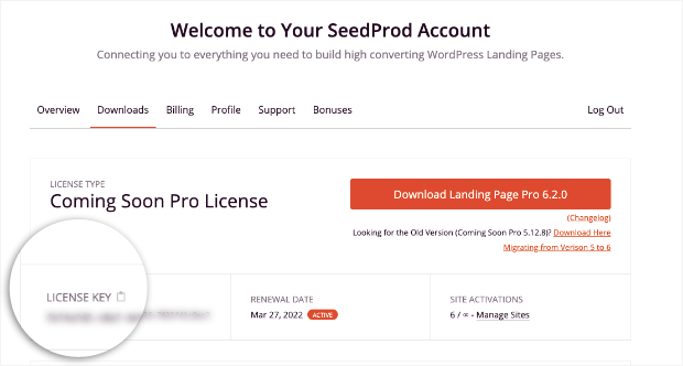 seedprod account downloads