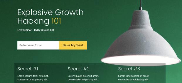 strategy webinar template seedprod