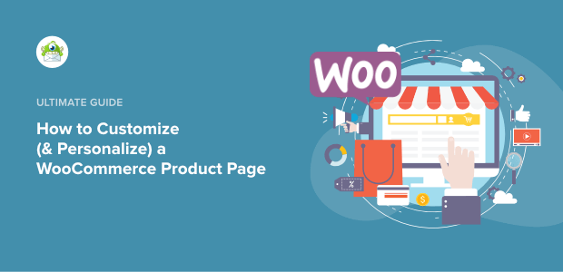 woocommerce personalized product page featured image