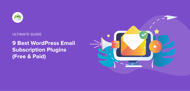 wordpress email subscription plugins featured image