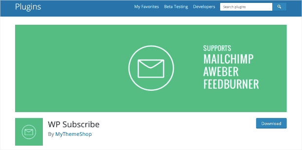 wp subscribe plugin homepage