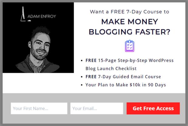 adam enfroy blogger