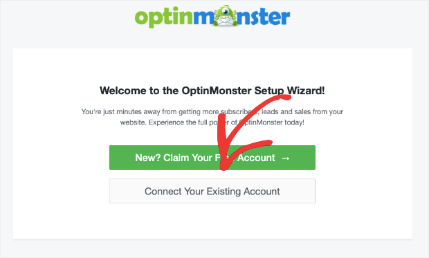 connect your optinmonster account