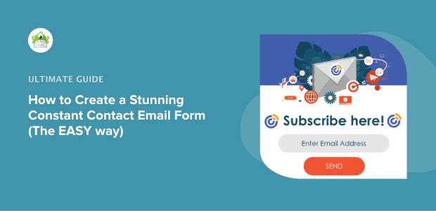 create a constant contact email form