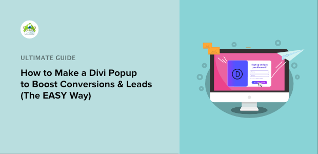 how to make a divi popup