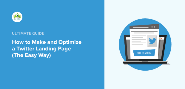 how to make and optimize twitter landing page