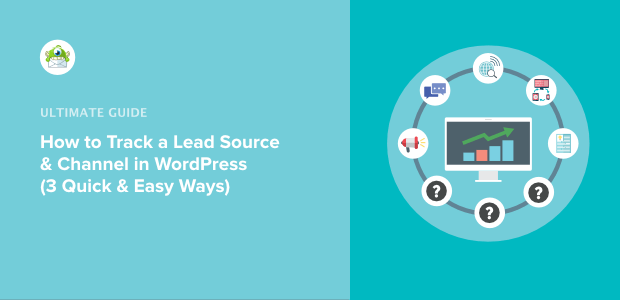 how to track a lead source in wordpress