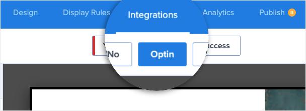 integrations tab