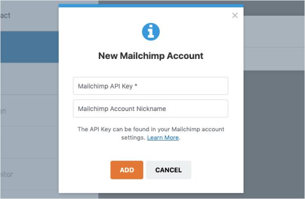 mailchimp wpforms integration
