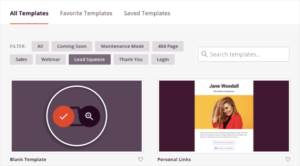 seedprod template preview