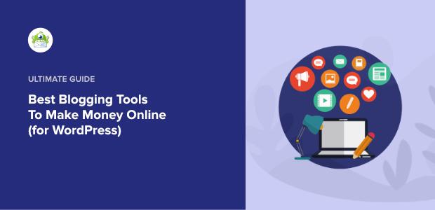 best blogging tools featured image