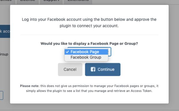 decide beween facebook page or facebook group