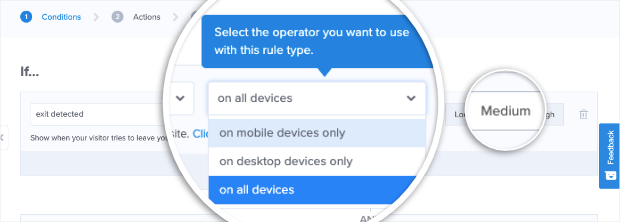 exit on devices