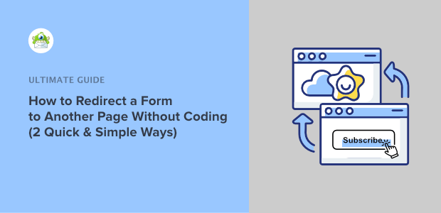 how to redirect a form to another page