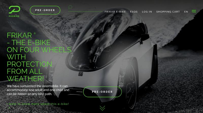 podbike homepage