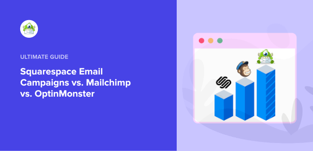 squarespace email campaigns vs mailchimp featured image