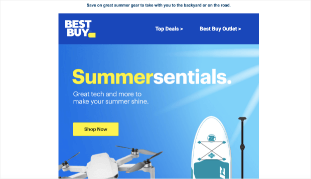 best buy promo email