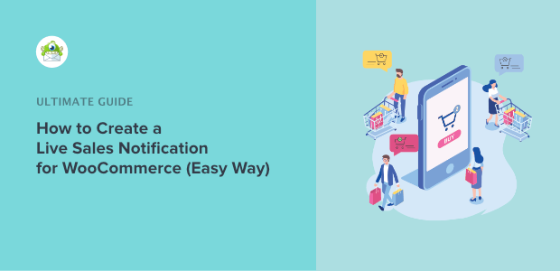 how to create a live sales notification for woocommerce