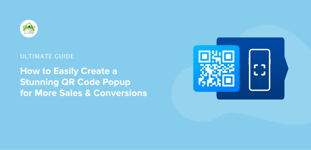 how to create a qr code popup
