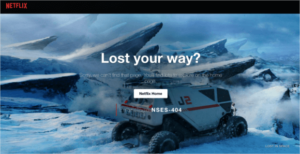 netflix 404 page example