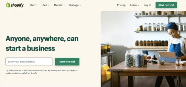 shopify value proposition