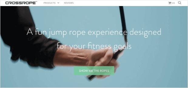 crossropecom ecommerce website